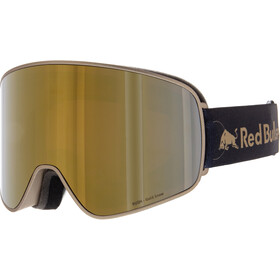 Red Bull SPECT Rush Goggles, gold-gold snow